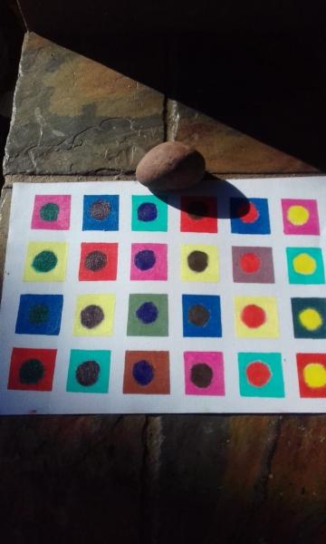 Exploring colour theory