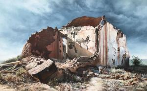 Entropy of a Karoo House 1