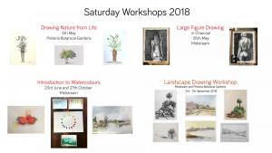 Workshops ad with pictures