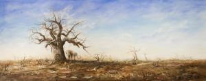 Giants - Baobab &  Elephant