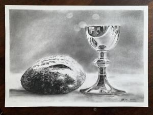 Bread and goblet final in Charcoal