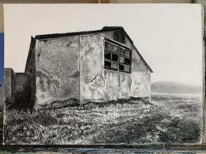 SHED IN DARLING CHARCOAL