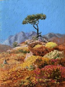 TREE AND FLOWERS OIL